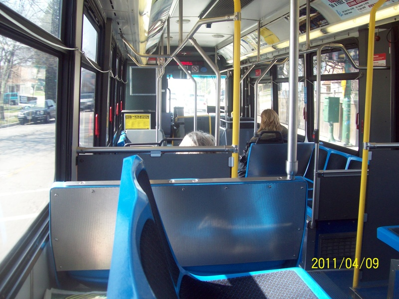 This Is The Interior Of 6721 On April 9 2011