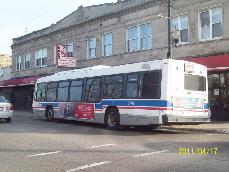 This Is 6742 On 56 Milwaukee Heading South To Monroe And